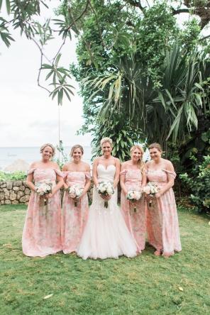 Bridesmaids in Jamaica
